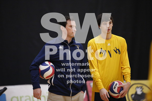1.12.2018 -  Augustana Men's Volleyball at BU