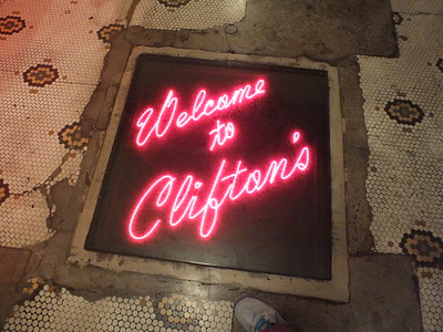 Clifton's Cafeteria 2016 Exploring