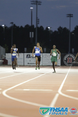 Class 3A - Running Event Finals - Boys 200m Dash