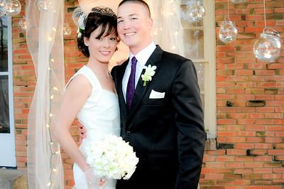 Brian and Misty's Backyard Wedding