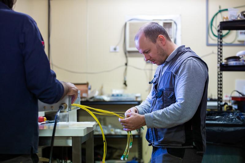 Installing the Aperture Array Verification System