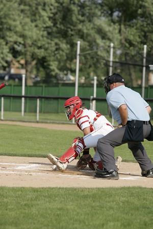 OHS Varsity Baseball Game Action 06082015