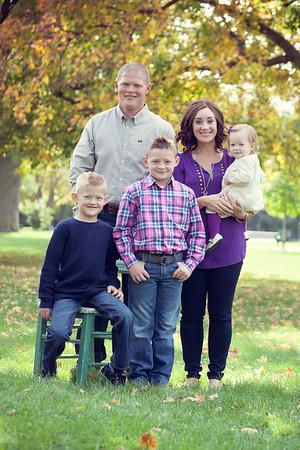 Christensen Family, Oct 2013