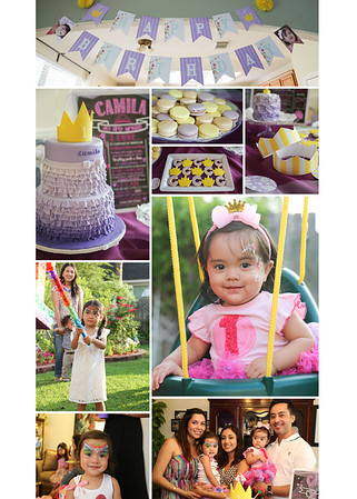 Camila's 1st Birthday