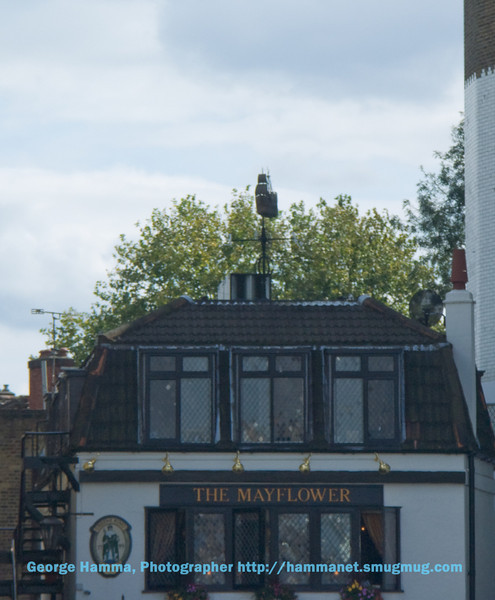 Mayflower in the Thames