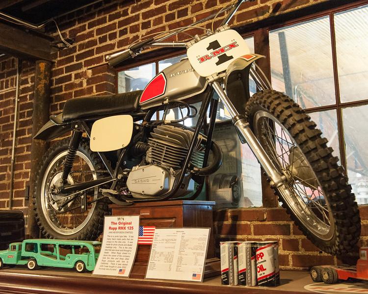 Trade show bike.