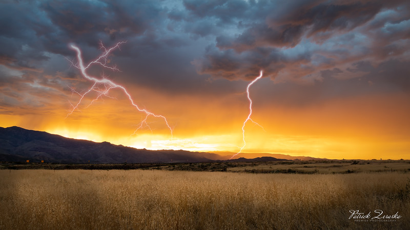 Arizona Beatiful Sunset Monsoon Lightning by Premier Photography (1 of 1).jpg
