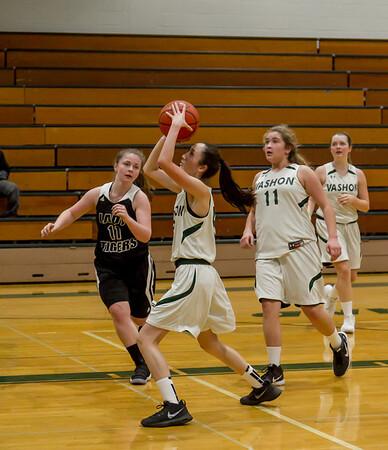 Set three: Girls JV Basketball v Granite Falls
