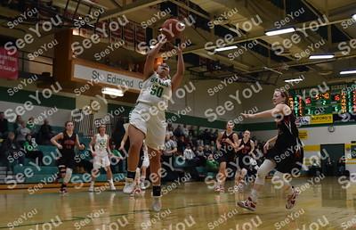 Hampton-Dumont @ St. Edmond Girls Basketball
