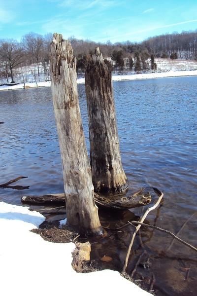 Merrill Creek Reservoir - Snowshoe Hike 013016