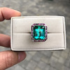 11.77ct Tourmaline Halo Ring by Leon Mege, AGL Cert 23