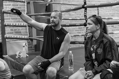 White Collar Boxing - 2021 - Training