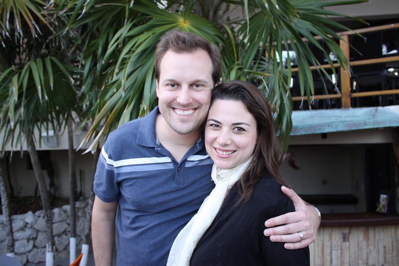 Scott and Caroline