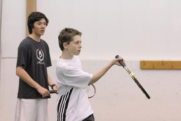 WUHS Tennis Team Practice