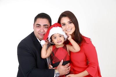 Joel, Cynthia y Valeria Navidad 2017