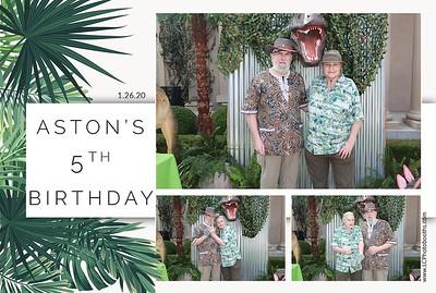 Aston's 5th Birthday