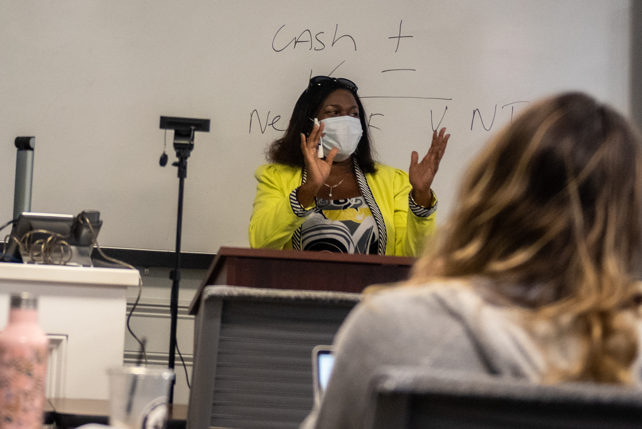 Image for How a new College of Business professor is bringing accounting to life