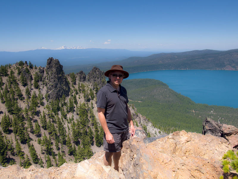 Roger at Paulina Peak