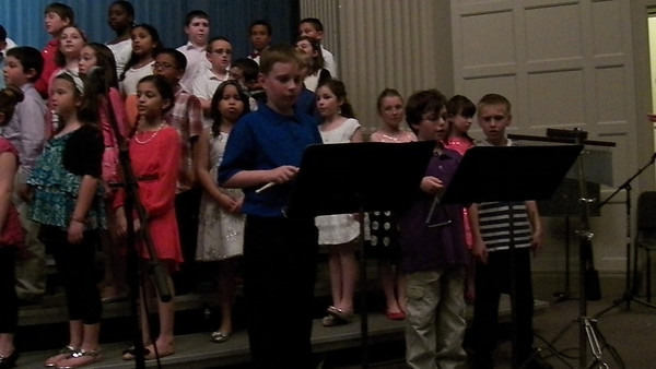Jacob's 5th grade Spring Concert