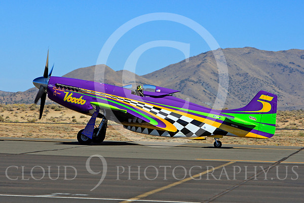 North American P-51 Mustang Voodoo Air Racing Plane Pictures