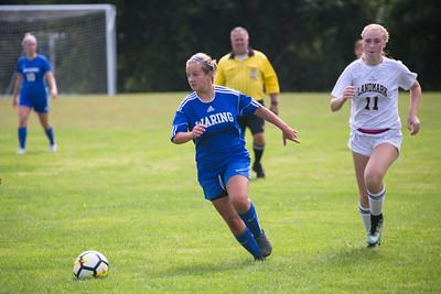 Girls Soccer vs Landmark (September 22, 2018)