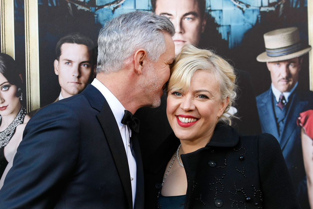 ". Director Baz Luhrmann and Catherine Martin attend ""The Great Gatsby\"" world premiere at Avery Fisher Hall at Lincoln Center for the Performing Arts on May 1, 2013 in New York City.  (Photo by Jemal Countess/Getty Images)"
