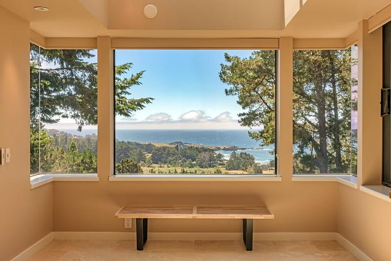 Ocean Views from Master Bathroom