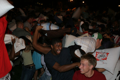 Welcome Week Pillow Fight and Outdoor Movie 2007