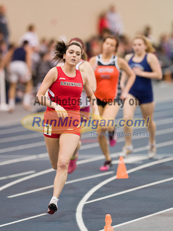 1000M Run - 2012 WHAC Indoor Finals