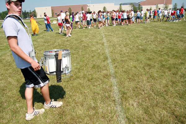2007 ROCHELLE HUBS MARCHING BAND CAMP