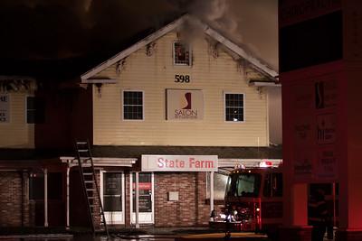Multi-Alarm Building Fire - 598 West Main Street, Norwich, CT - 12/31/16