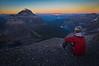 Nighttime at 11,000 ft, Deltaform-Neptuak Col, Banff/Kootenay National Parks, AB/Bc, Canada.