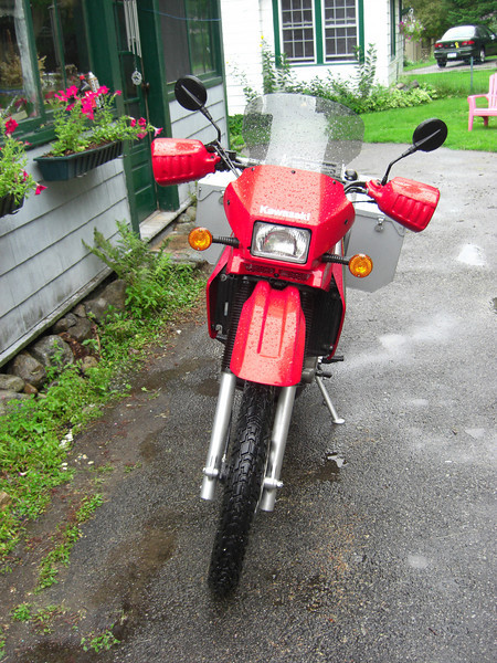 The New 2006 KLR650, aug, 10, 2006.CIMG2411.JPG