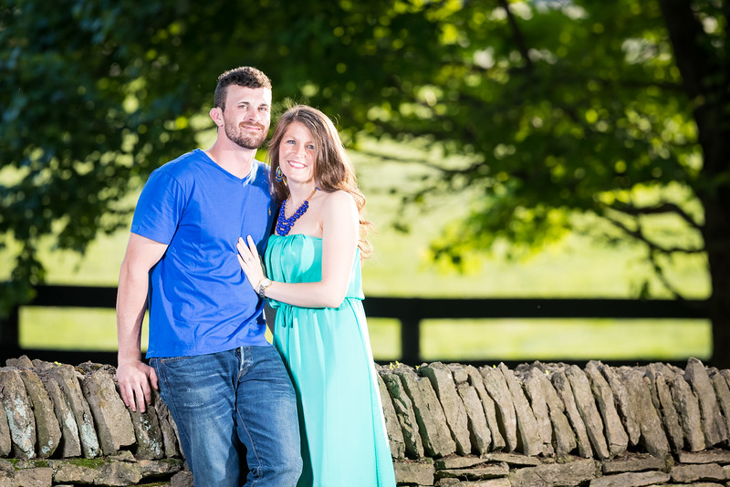 Shanna & Trevor along Pisgah Pike and at Keeneland 5.24.16