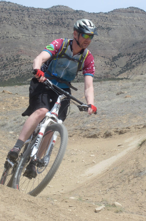 . David Hoerman tests one of the new trails in the North Fruita Desert, aka Road 18. Handout Photo