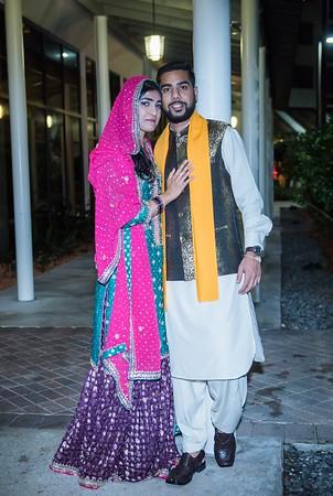 Arwa weds Syed Danish