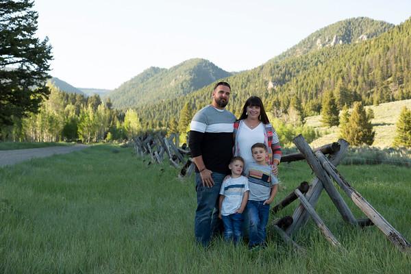 de Rose Family - West Yellowstone, Montana