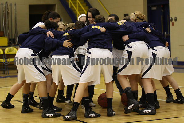 NR Girls Basketball vs Vermilion 01/14/12