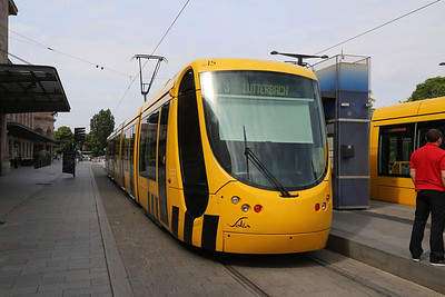Trams of Mulhouse