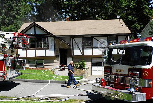 Dover, NJ House Fire on Green Tree Lane August 21, 2008