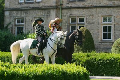 07.08.2004 Fürstliche Hofreitschule Bückeburg