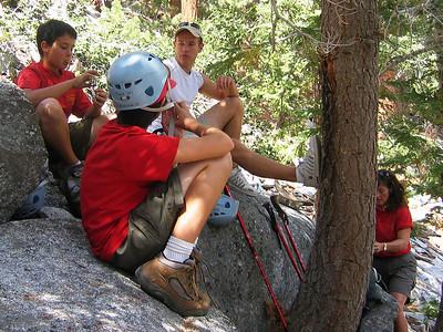 9/7/2007 - Rockclimbing at Suicide Rock, Idyllwild, CA