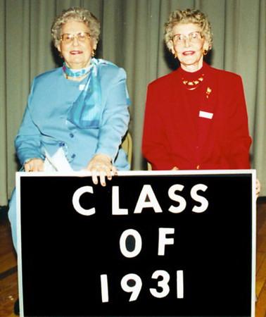 VHS Class of 1926-31-36-37-39-40-41-42-43-46-47-50-52-55-57-60-61
