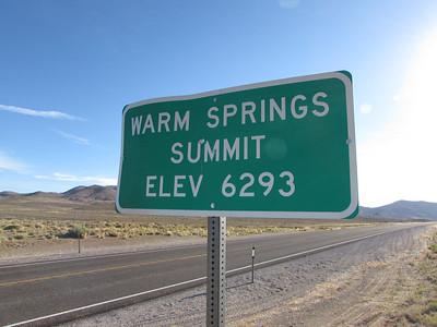 NV- Warm Springs Summit