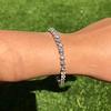10.50ctw Round Brilliant Diamond Tennis Bracelet 24
