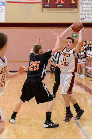 District WSSH vs. Aberdeen Boys Basketball 2014