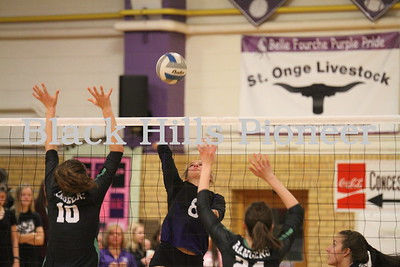 10-22-18 Hill City volleyball @ Belle Fourche