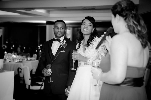 Rachel & Markel B/W Wedding Photos