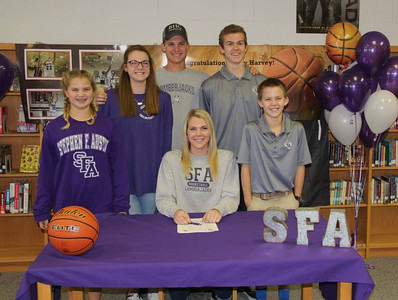 Riley Harvey and Darci Foster Signing Day, 11/11/2015