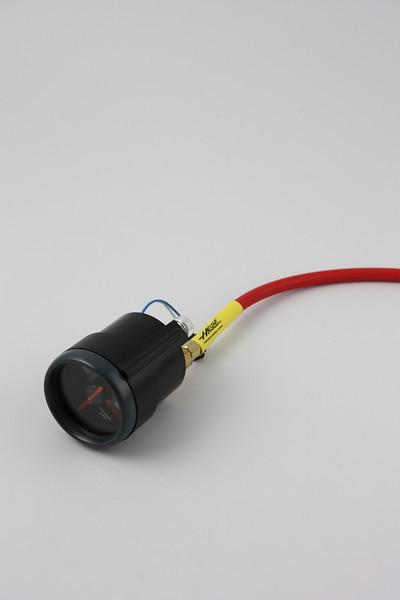 Interior Vacuum gauge connections